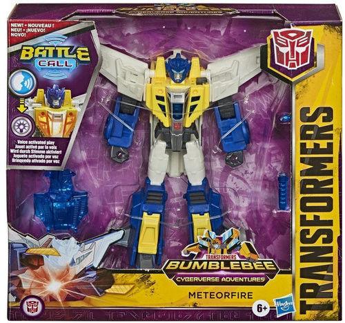 Figurka Transformers CyberBattle Call Trooper Meteor Fire