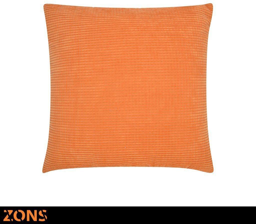 Poduszka 45 x 45 cm 8 kolorów + wypełnienie 480 g (pomarańczowe)