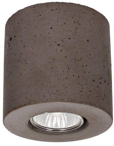 Lampa sufitowa Concrete Dream 6 W betonowa kolor szary 2066136
