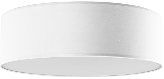 Lampex Iglo 40 biały 654/40 BIA plafon lampa sufitowa biała nowoczesna tkanina 3x40W E27 40cm