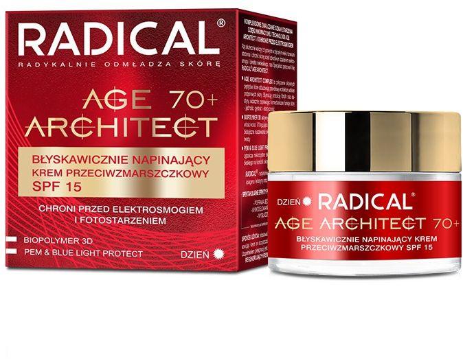 RADICAL AGE ARCHITECT 70+ Błyskawicznie napinający krem przeciwzmarszczkowy SPF15, 50ml