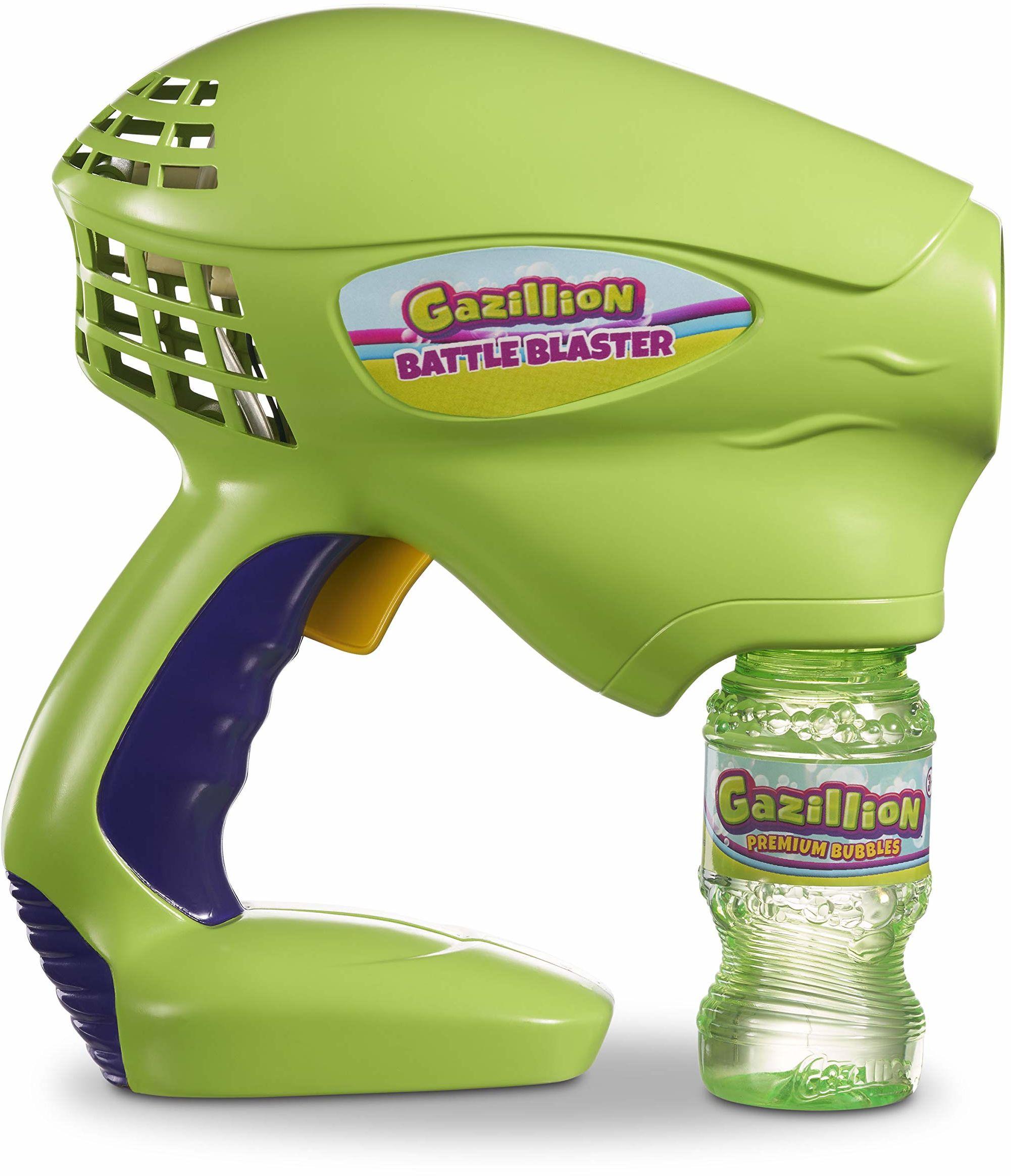 Gazillion by Funrise 36447 Bubbles Gazillion Battle Blaster maszyna do baniek mydlanych, multi