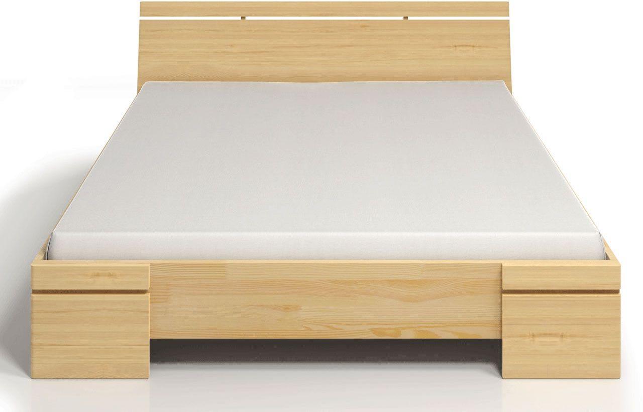 Drewniane wysokie łóżko Ventos 3X - 6 ROZMIARÓW