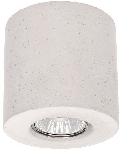 Lampa sufitowa Concrete Dream 5 W betonowa kolor biały 2566137