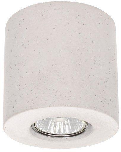 Lampa sufitowa Concrete Dream 6 W betonowa kolor biały 2066137