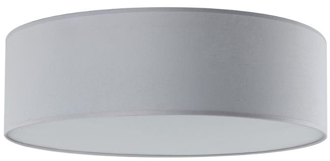 Lampex Iglo 40 654/40 POP plafon lampa sufitowa nowoczesna tkanina popiel 3x40W E27 40cm