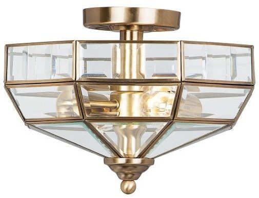 Old Park Aged Bronze - Elstead Lighting - lampa sufitowa klasyczna