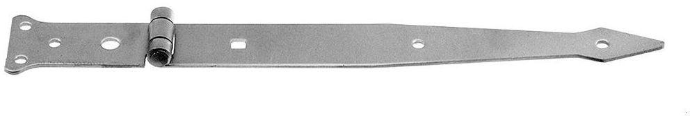 Zawias rzutnikowy 400 x 63 mm przykręcany ocynkowany