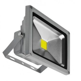Naświetlacz LED 20W BGR SZARY IP65 AZ1193 - Azzardo