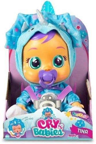 IMC Toys Cry Babies - Płacząca lalka bobas Fantasy Tina 93225