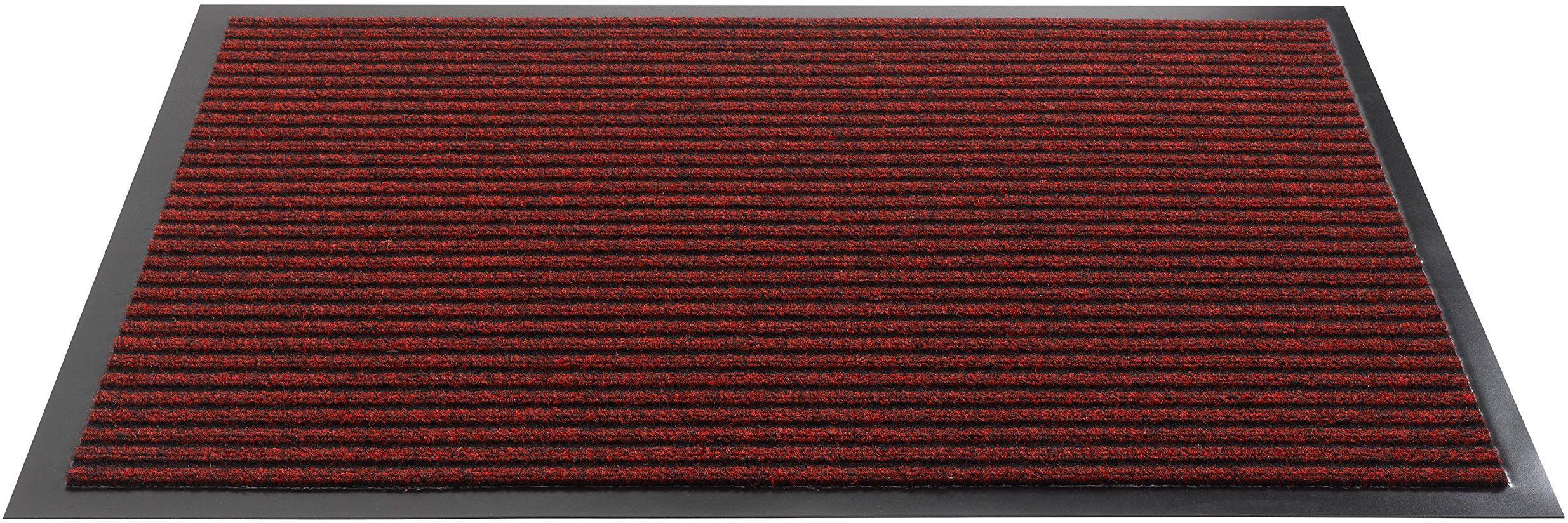 HMT 53300180120 wycieraczka z polipropylenu, kolor czerwony, 120 x 80 x 8 cm