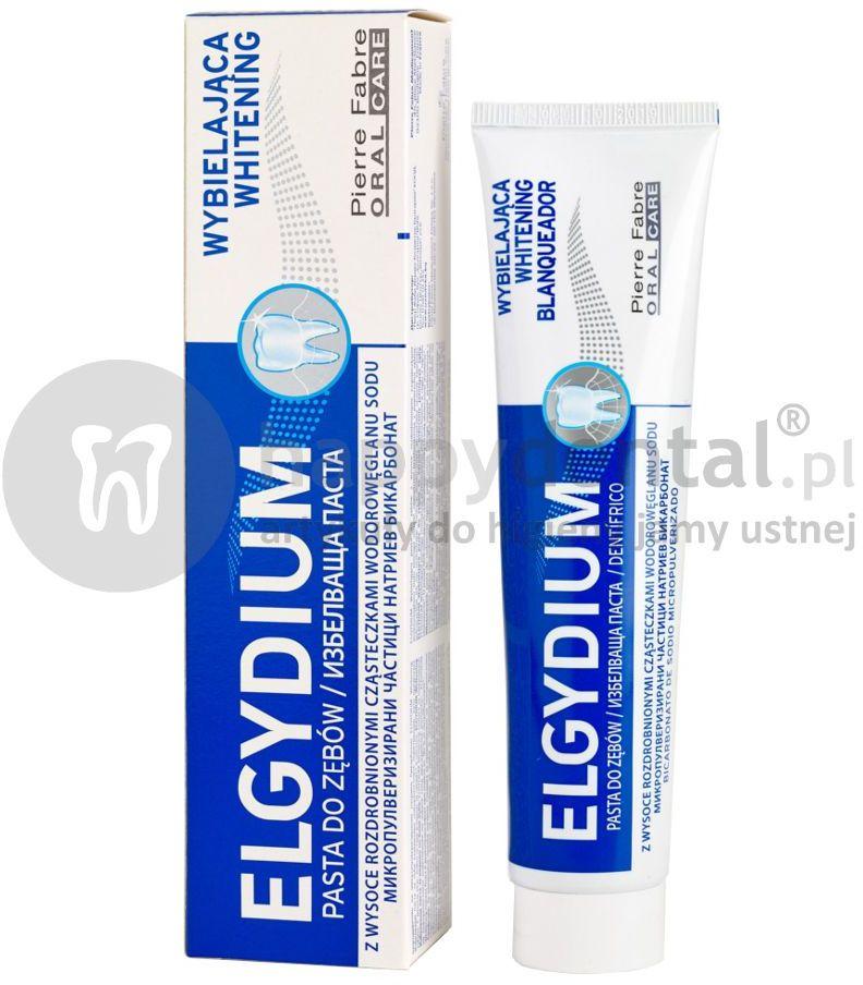 ELGYDIUM Whitening wybielająca pasta do zębów 75ml