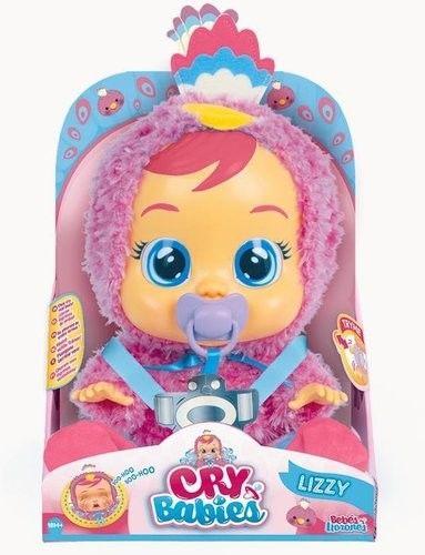 IMC Toys Cry Babies - Płacząca lalka bobas Lizzy 91665