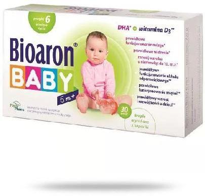Bioaron Baby DHA powyżej 6. miesiąca życia 30 kapsułek twist-off