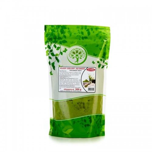 Młody zielony jęczmień 500g