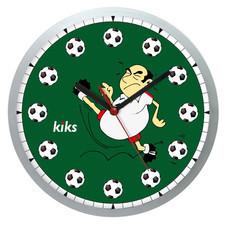 Zegar ścienny Sport piłkarski kiks
