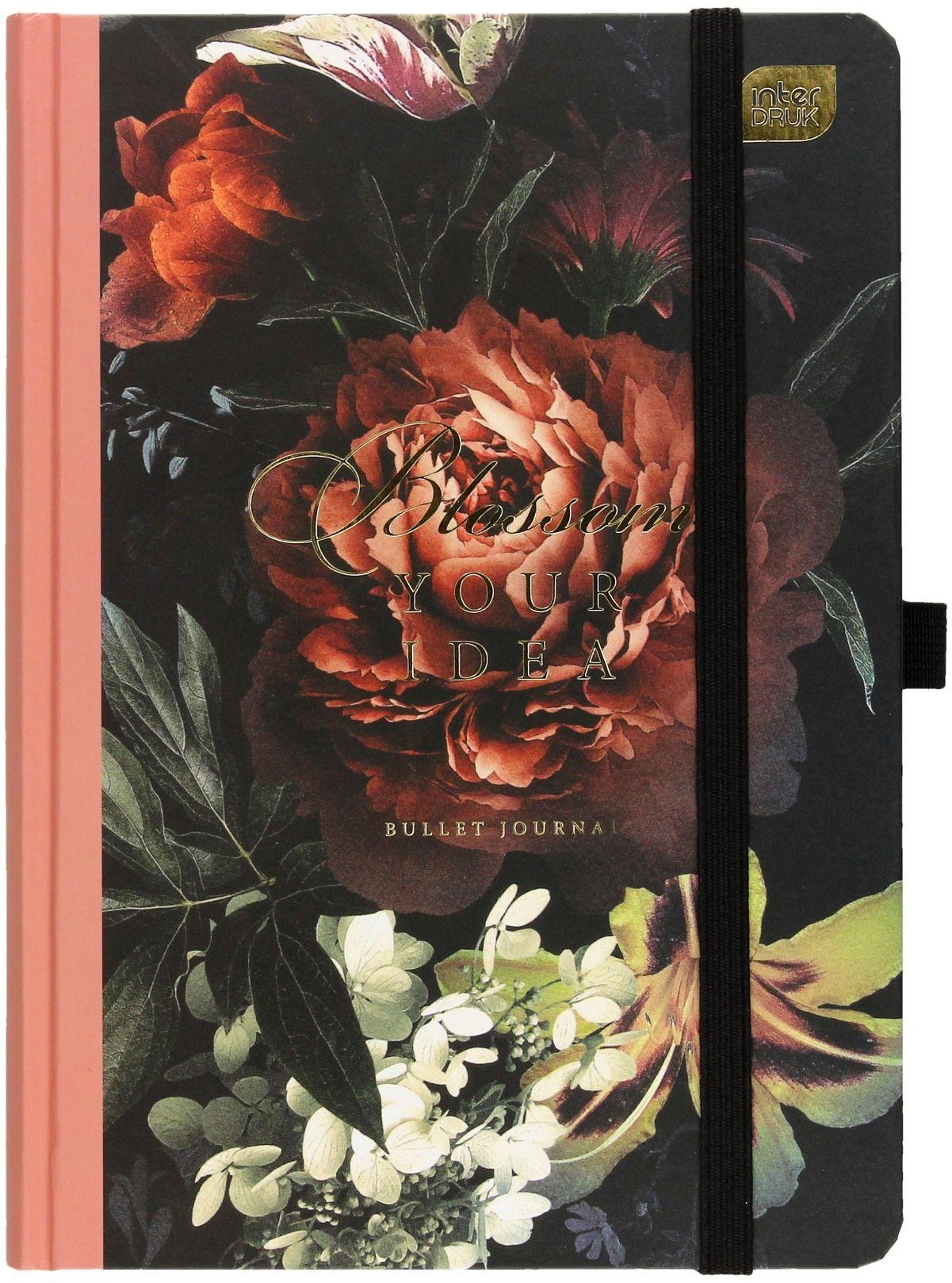 Organizer A5/288 Bujo Flowers Bullet Journal Interdruk