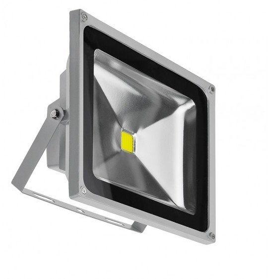 Naświetlacz LED 50W BGR SZARY IP65 AZ1199 - Azzardo
