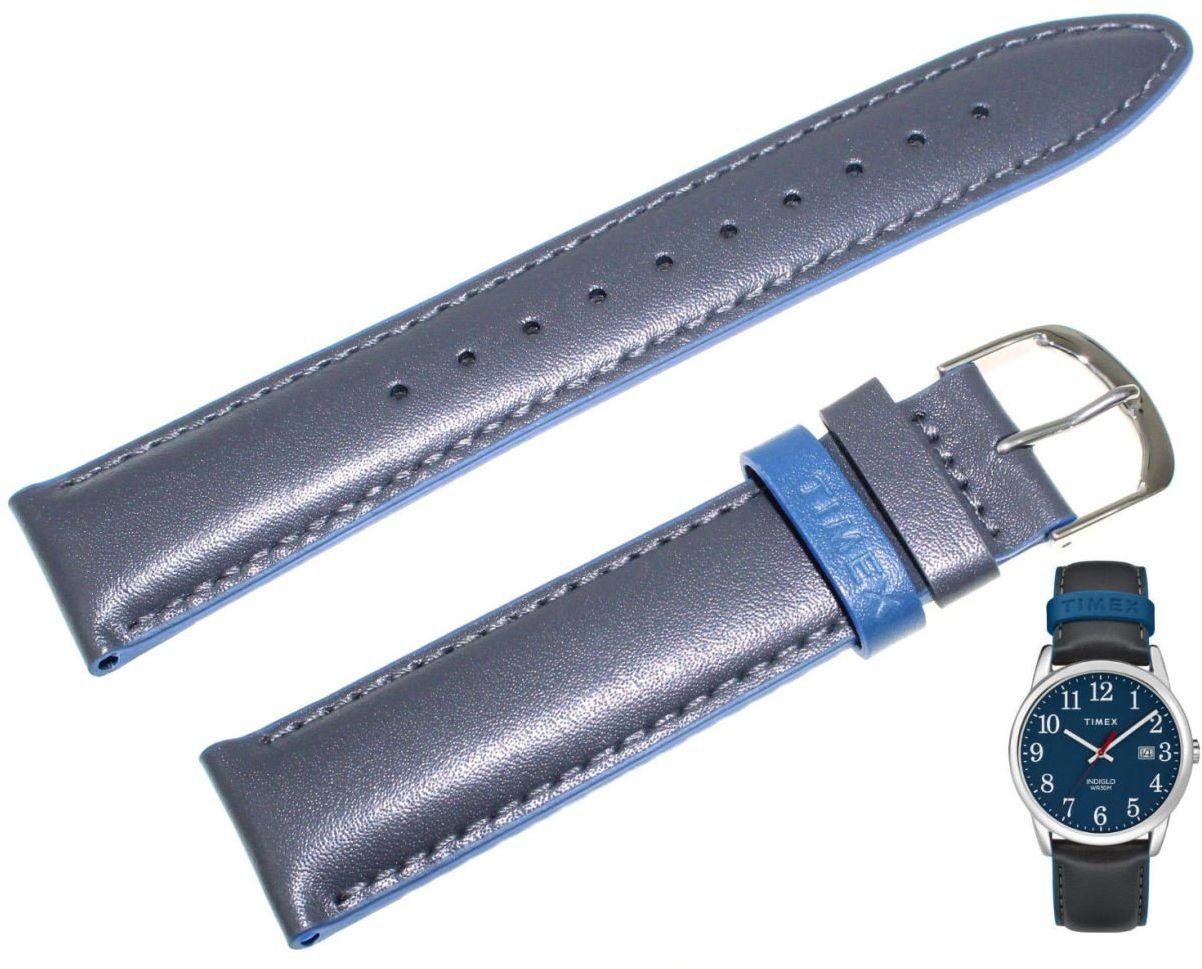 Pasek do zegarka Timex TW2R62400 PW2R62400 20 mm Skóra