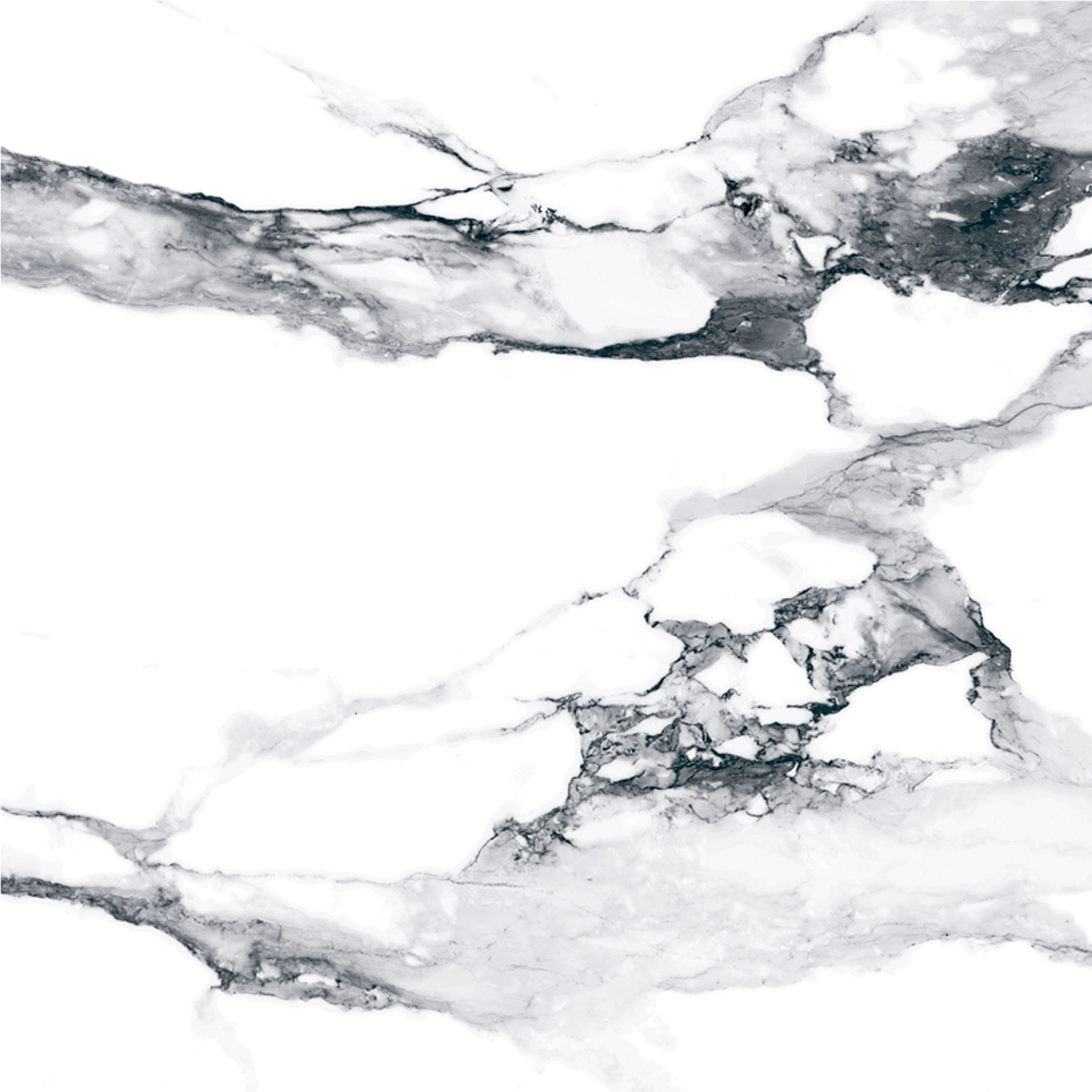 CRASH Marble Bianco 120x120
