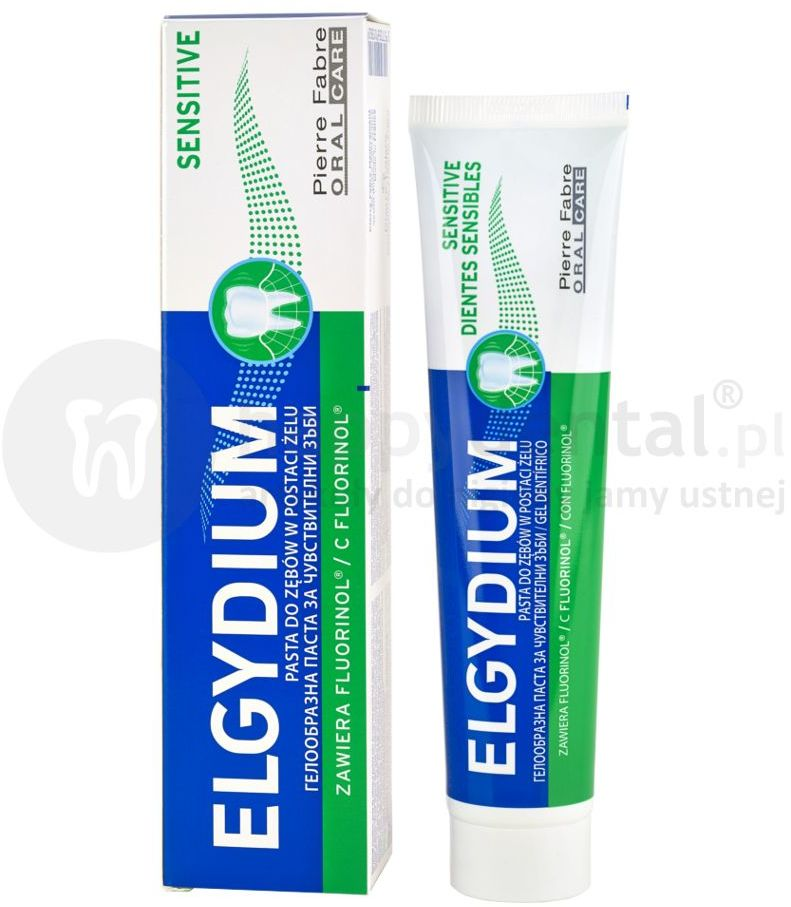 ELGYDIUM Sensitive pasta na wrażliwe zęby 75ml