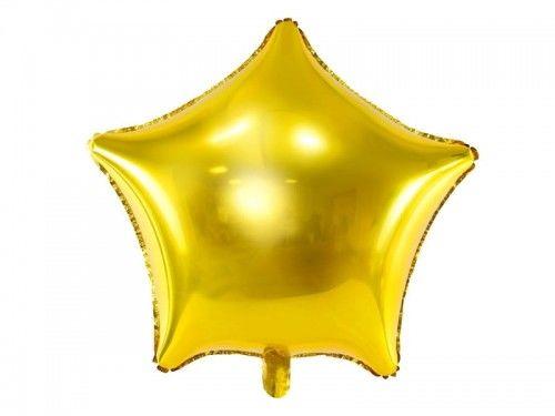 Balon foliowy Gwiazda złota