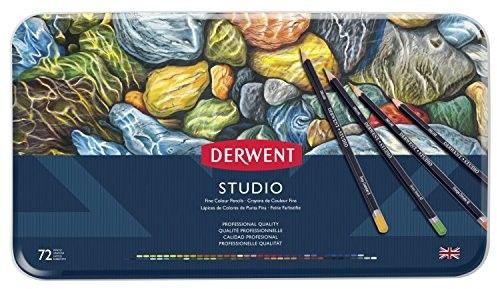 Zestaw Kredek Derwent Studio 72 Kolory