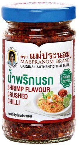 Kruszone chili z krewetkami 67g - Mae Pranom