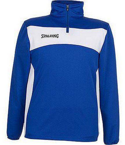 Spalding Evolution II 1/4 Zip Top, niebieski/biały, 116