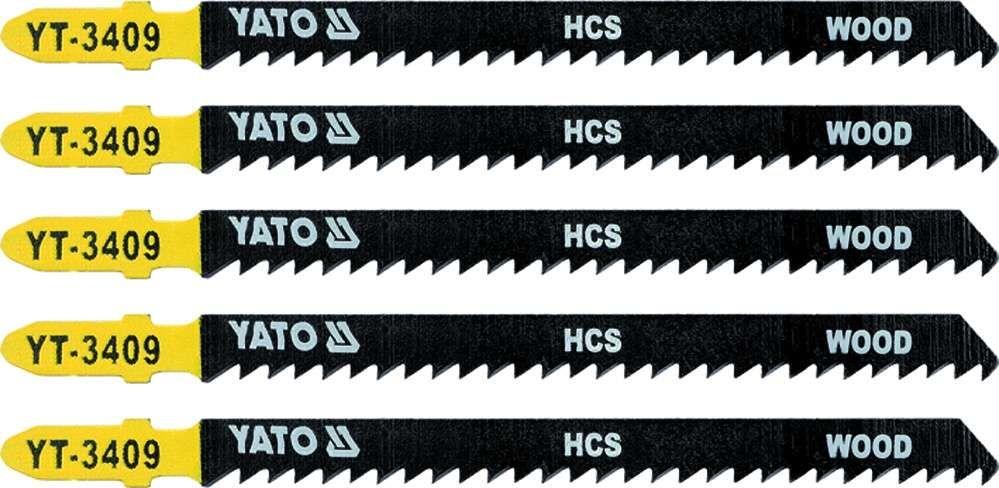 Brzeszczot do wyrzynarki typ t, 8 tpi, do drewna, 5 szt Yato YT-3409 - ZYSKAJ RABAT 30 ZŁ