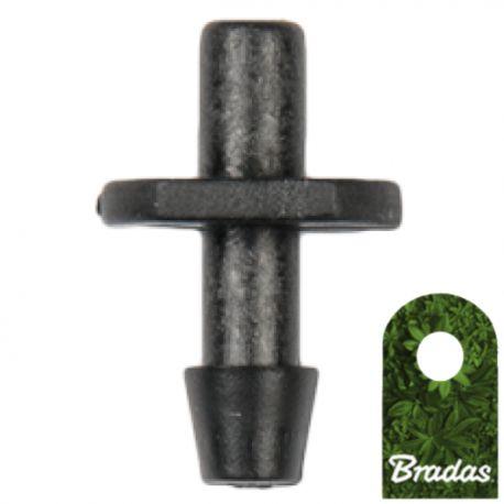 Wkłuwka do emiterów i kroplowników patykowych wyjście 4mm Bradas 1611