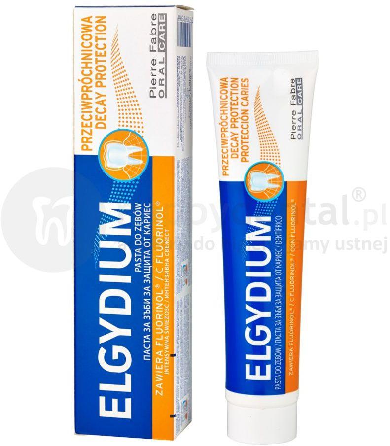 ELGYDIUM Decay Protection pasta do zębów przeciw próchicy 75ml