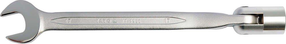 Klucz płasko-nasadowy, przegubowy 14 mm Yato YT-4955 - ZYSKAJ RABAT 30 ZŁ