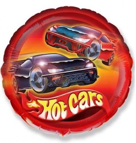 "Balon foliowy 18"" Samochody Hot Cars"