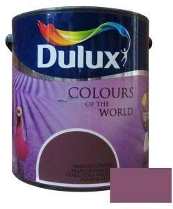 Emulsja Dulux Kolory Świata 5l Prowansja - Fiolety i róże