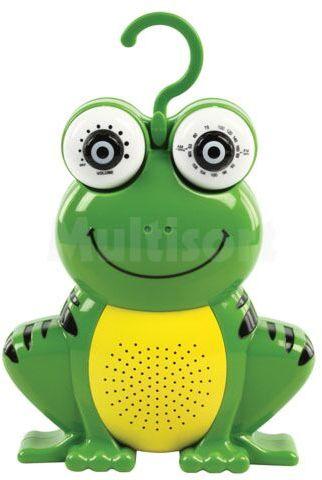 Radio prysznicowe żabka