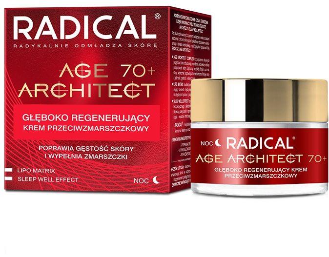 RADICAL AGE ARCHITECT 70+ Głęboko regenerujący krem przeciwzmarszczkowy, 50ml