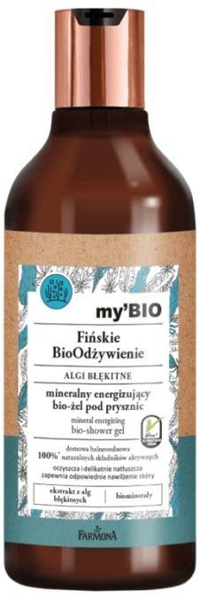 my BIO Fińskie BioOdżywienie ALGI BŁĘKITNE mineralny energizujący bio-żel pod prysznic
