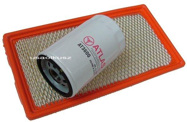 Filtr powietrza oraz filtr oleju Ford Windstar