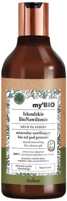 my BIO Islandzkie BioNawilżenie MECH ISLANDZKI mineralny nawilżający bio-żel pod prysznic