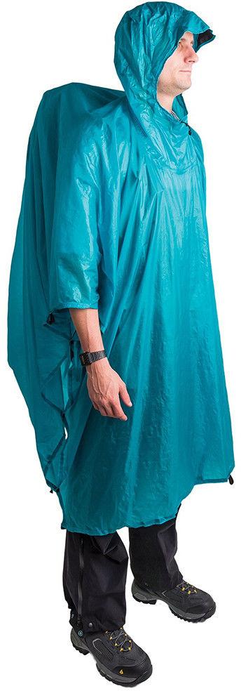 Peleryna przeciwdeszczowa - płachta biwakowa ULTRA-SIL NANO TARP PONCHO blue