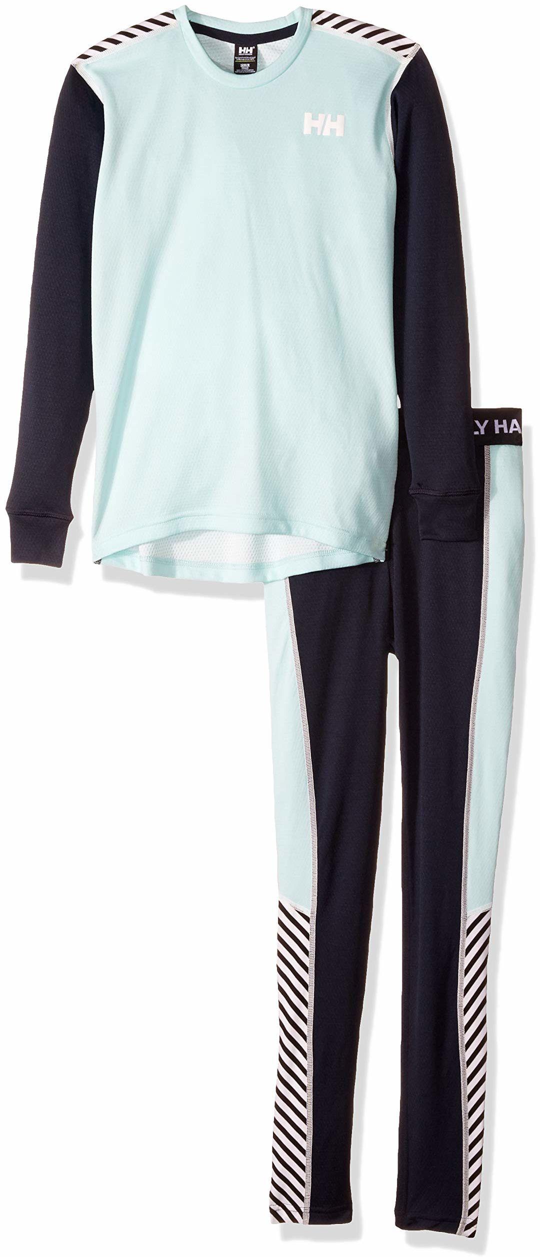 Hellyhansen chłopięcy aktywny garnitur, niebieski odcień, rozmiar 8
