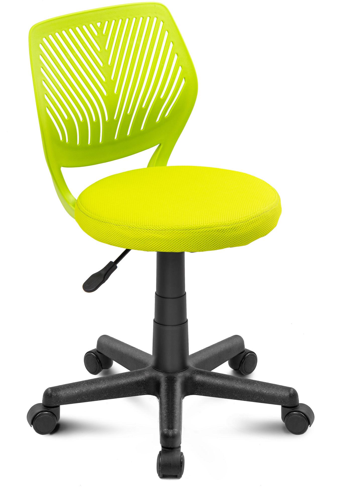 Fotel biurowy Smart z siedziskiem okrągłym - zielony