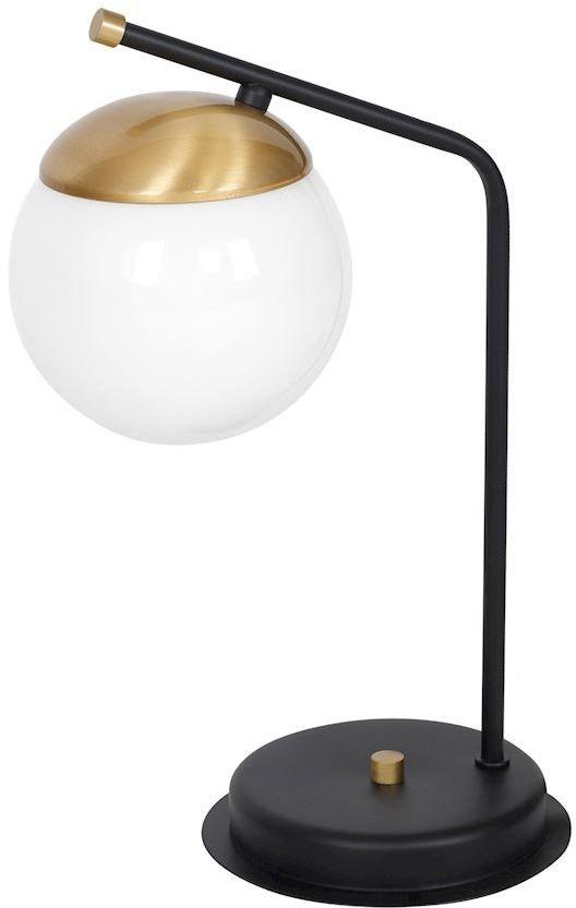 Lampa stołowa Carina 1 Czarny MLP4868 - Milagro // Rabaty w koszyku i darmowa dostawa od 299zł !