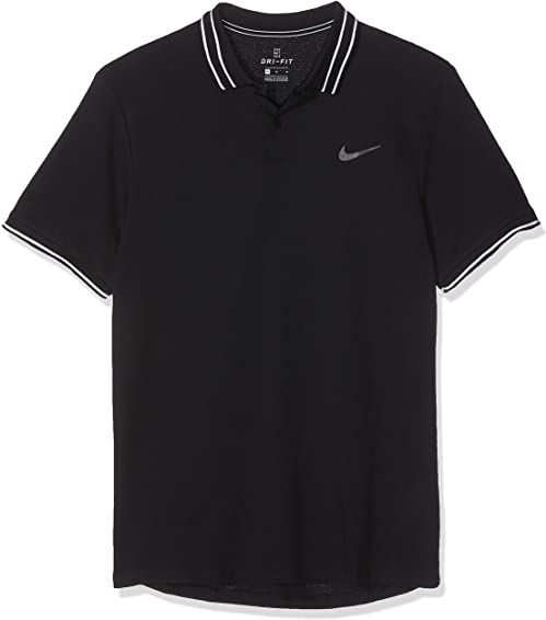 Nike męska koszulka polo M NKCT ADV, czarna, mała