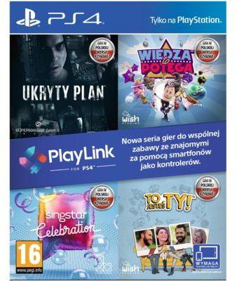 Gra PS4 Ukryty Plan + Wiedza To Potęga + SingStar Celebration + To Jesteś Ty