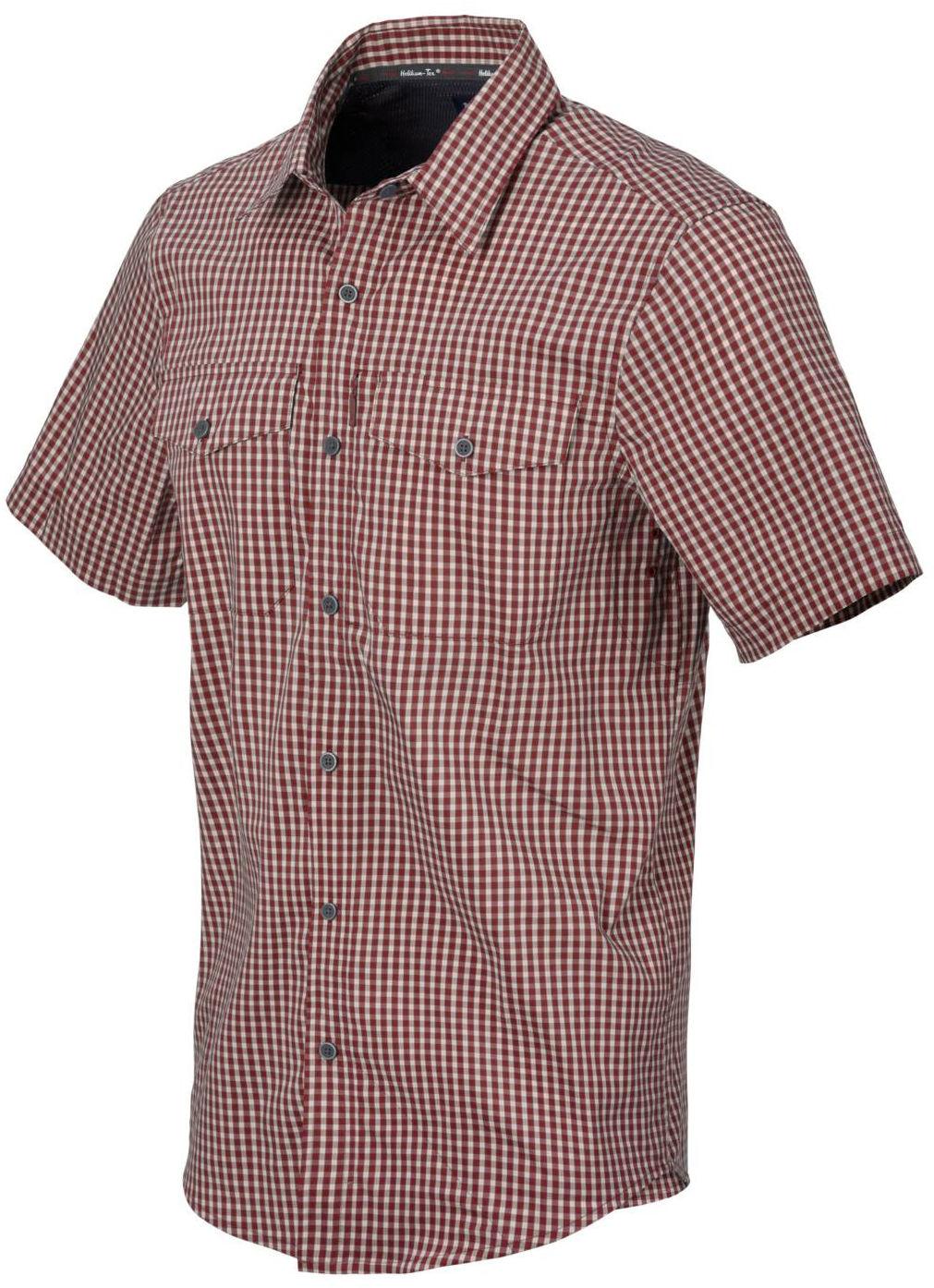 Koszula Helikon Covert Concealed Carry Short Sleeve Dirt Red Checkered (KO-CCS-CB-C5) H
