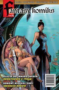 Fantasy Komiks Tom 25 ZAKŁADKA DO KSIĄŻEK GRATIS DO KAŻDEGO ZAMÓWIENIA
