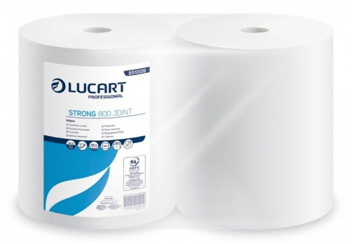 Czyściwo LUCART STRONG 800 Joint (2 rolki)