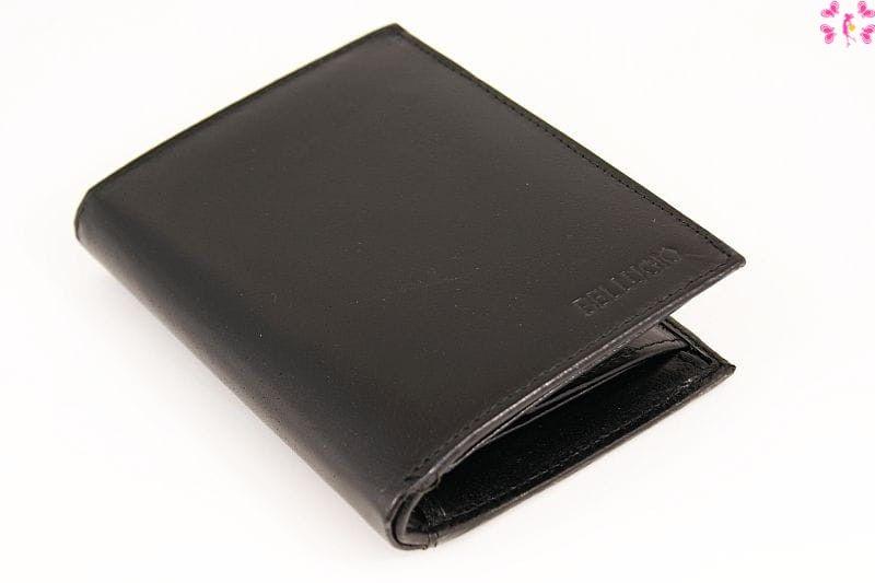 Skórzany portfel męski Bellugio pm270 czarny